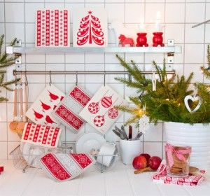 Swedish dishcloths and tea towels from Jangneus to brighten up everyday chores