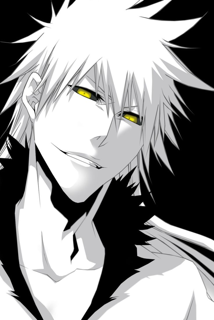 Hollow Ichigo, I want. #Bleach