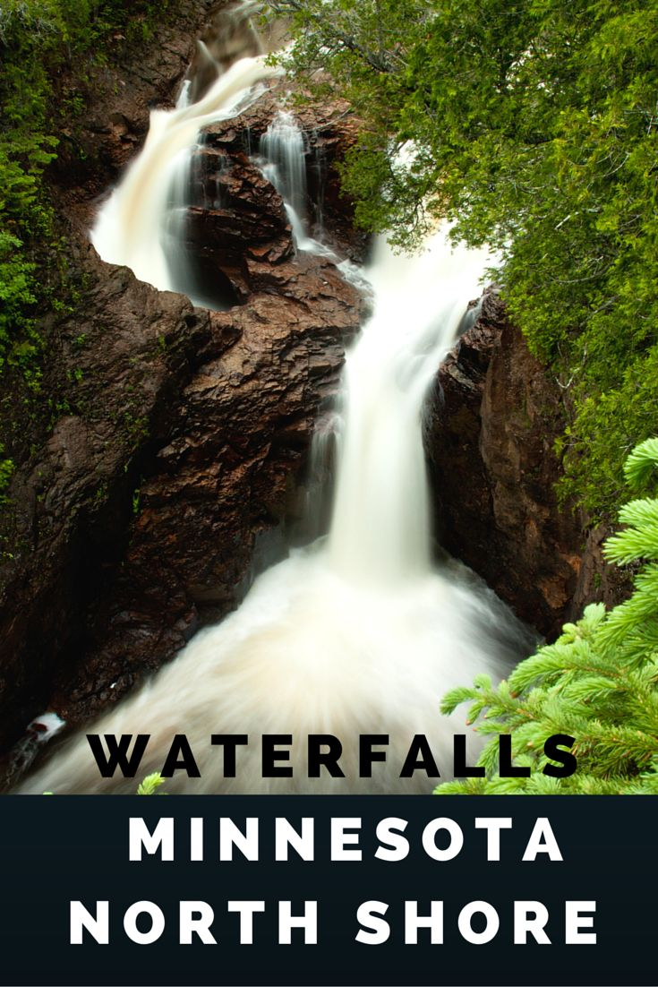 Include beautiful Minnesota waterfalls on your list during your next romantic Minnesota getaway along the mn north shore.