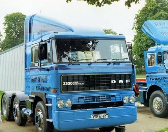 Shaun Leigh - DAF Truck