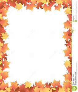 fall free printable paper borders