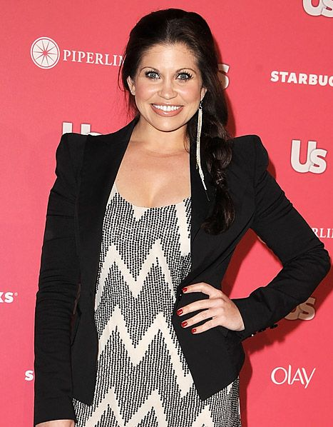 Danielle Fishel---- love love love this jacket! love the curve of the shoulders