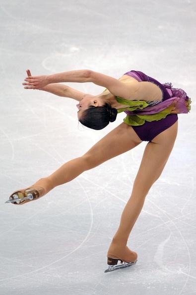 Alissa Czisny  Worlds 2009, Purple Figure Skating / Ice Skating dress inspiration for Sk8 Gr8 Designs