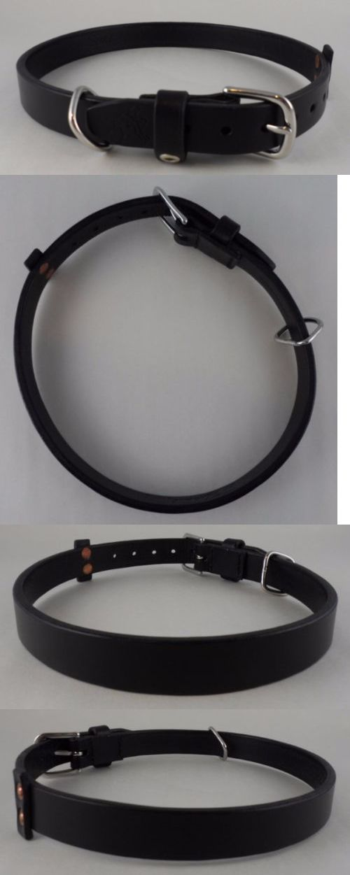 Animals Dog: New Saddleback Leather Dog Collar - Size Large - 1 Wide -> BUY IT NOW ONLY: $40 on eBay!