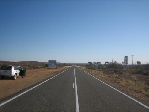 The road out of Broken Hill