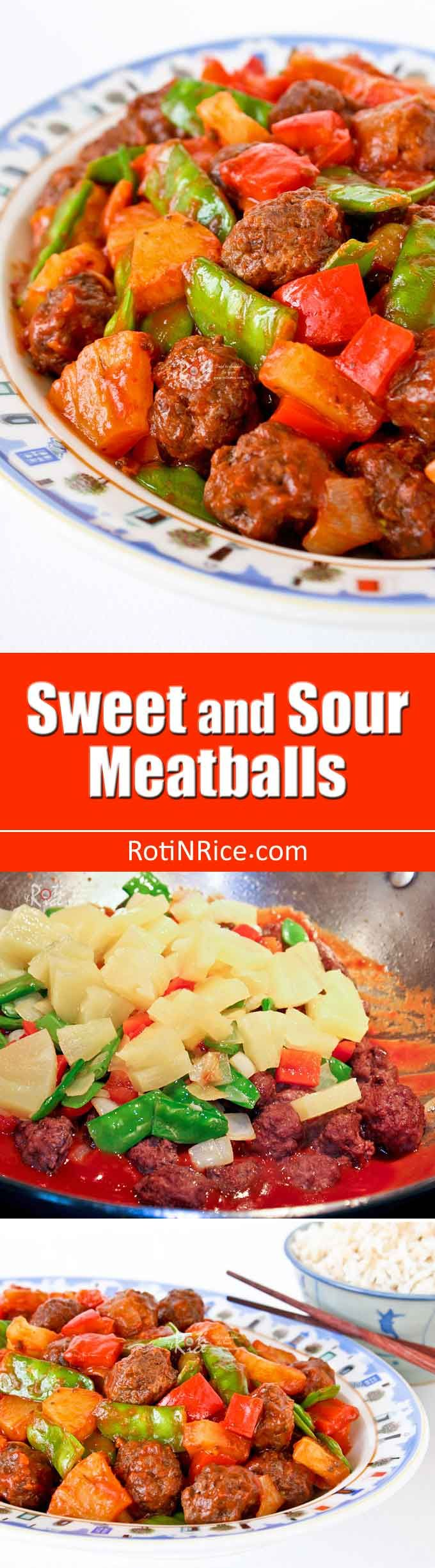 your family to these tender and delicious Sweet and Sour Meatballs ...
