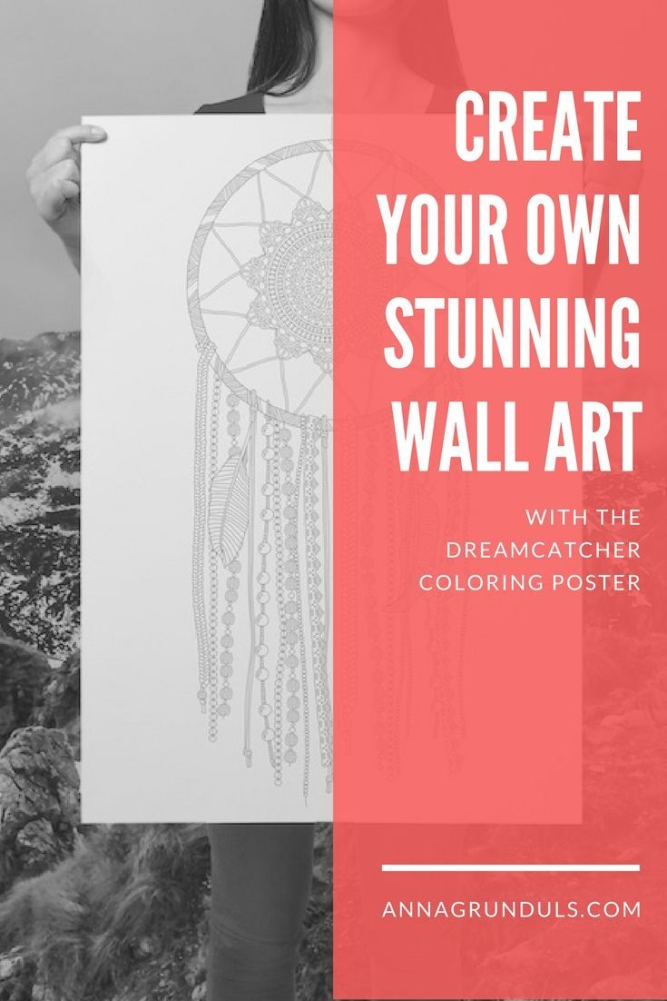 Everyone has the desire to create, but we don't always want the commitment, that comes with drawing and painting. These giant coloring posters are perfect for fulfilling your creative passions. The final outcome is up to you, but one thing is sure: It will turn out just as you want it to! :) Let's have fun and get this creating on!