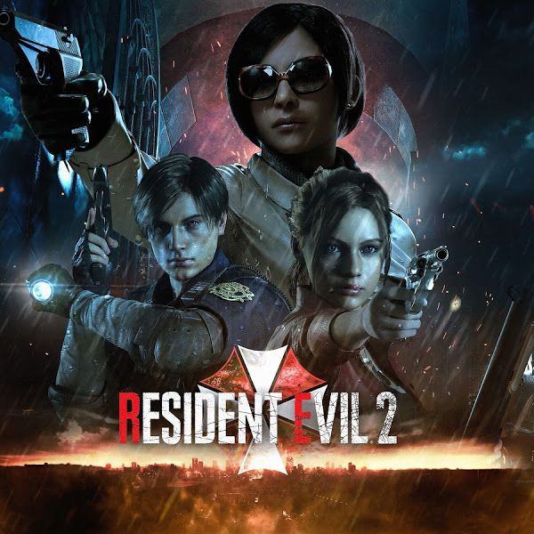 Resident Evil 2 Leon S Kennedy Claire Redfield Ada Wong 4k