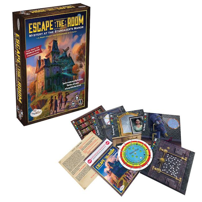 Best board games for older kids: the whole family can work together to Escape the Room with this fun puzzle game.