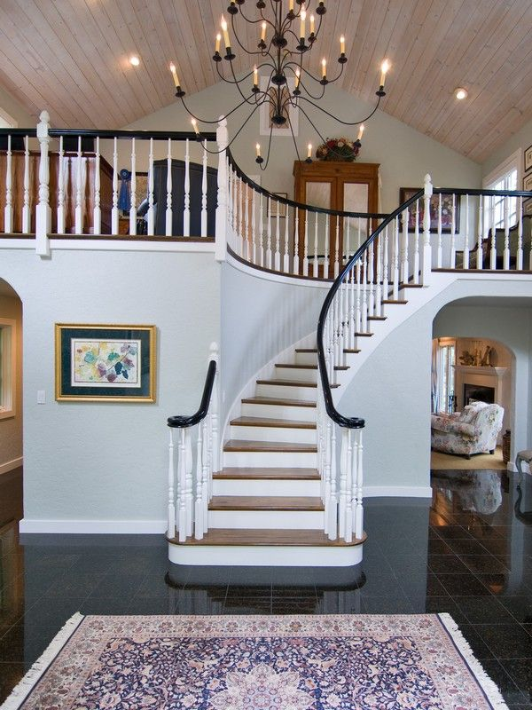 Foyer Seating Area Ideas : Best images about entryway and staircase ideas on