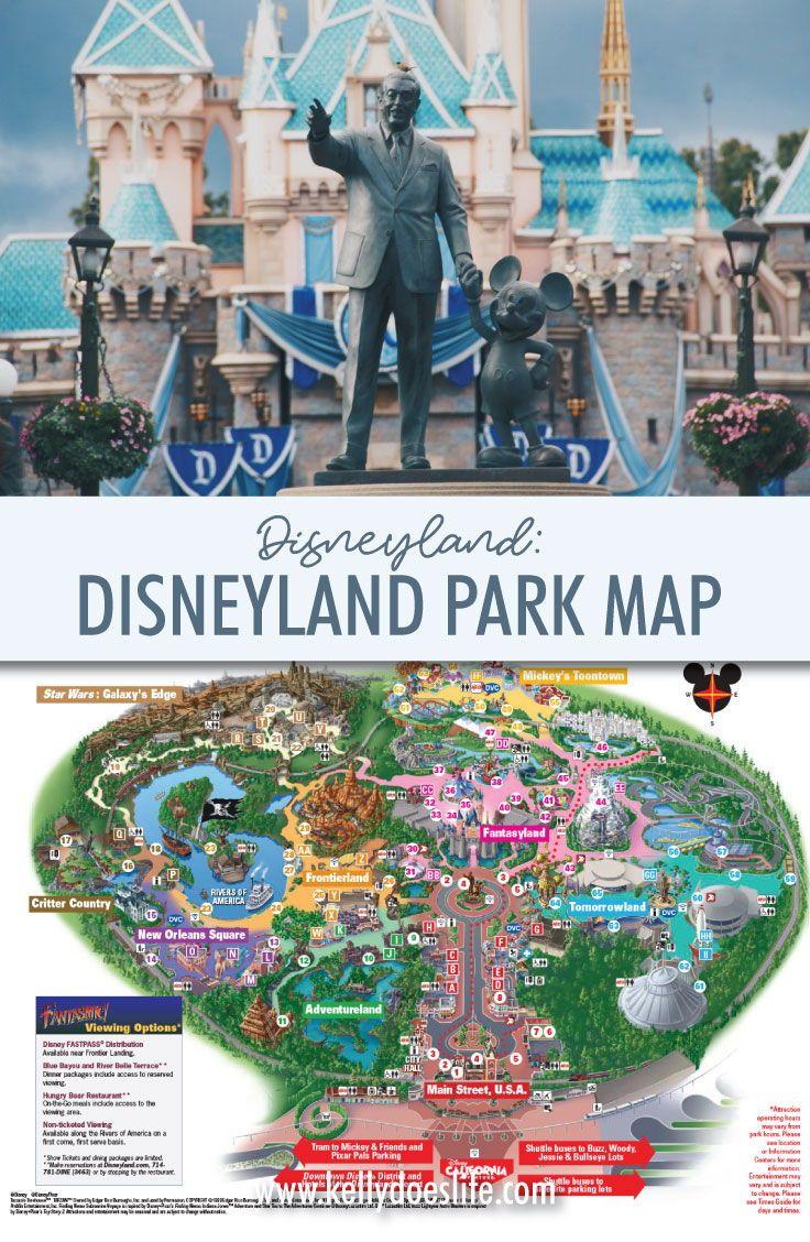 Reisen Sie nach Disneyland in Anaheim, Kalifornien? Schauen Sie sich die druckbare Dis …