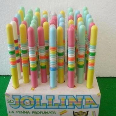 Jollina, la penna profumata
