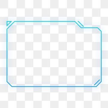 Png Free Buckle Blue Violet Gradient Color External Glow Geometric Square Round Border Square Irregular Geometric Border Frame Sense High Tech Png Transpare Desain Pamflet Abstrak Kartu Nama