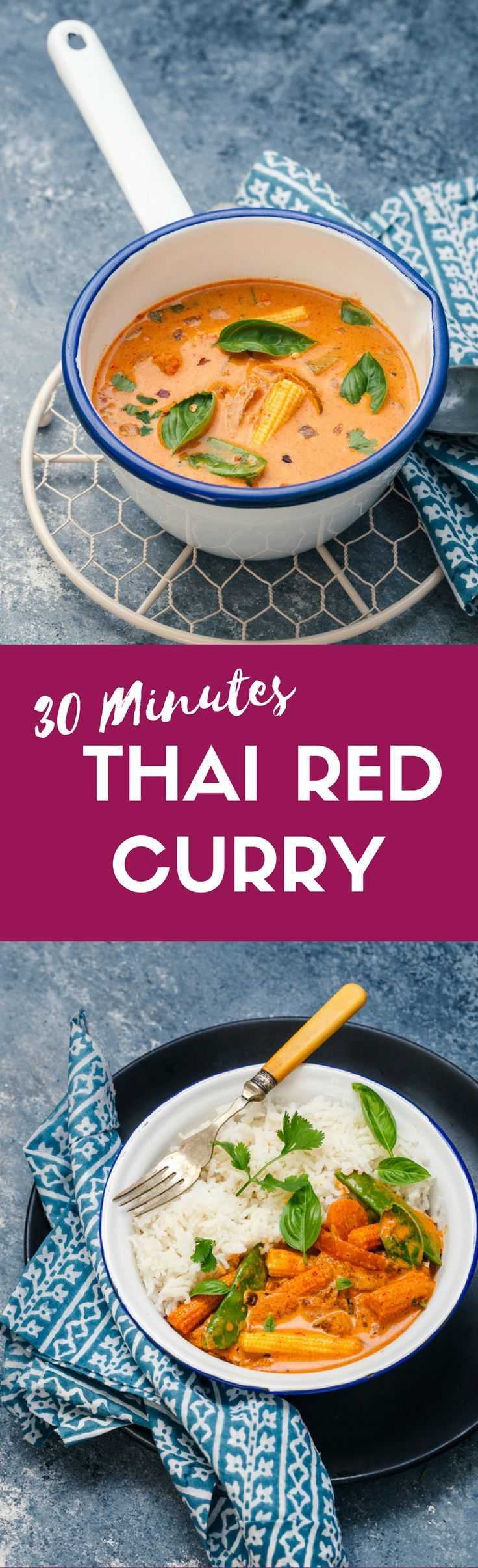 88 best thai food recipes images on pinterest thai food recipes 30 minutes vegan thai red curry with vegetables thai food recipescurry forumfinder Gallery