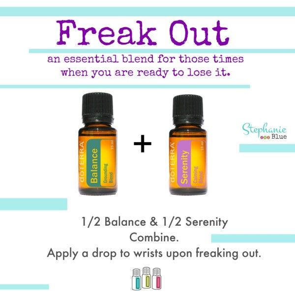 Freak Out: Essential Oils for Emotional Support