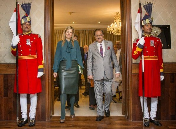 Queen Maxima of the Netherlands visits Pakistan