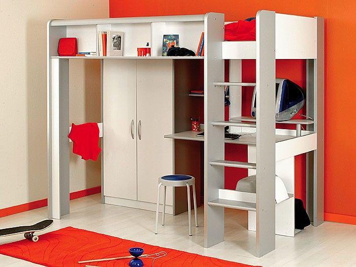 Jugendbett design  17 best Lits enfant images on Pinterest | Blue, Nursery and 3/4 beds