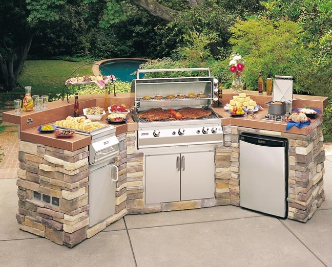 17 best images about outdoor kitchen ideas on pinterest for Outdoor kitchen without grill