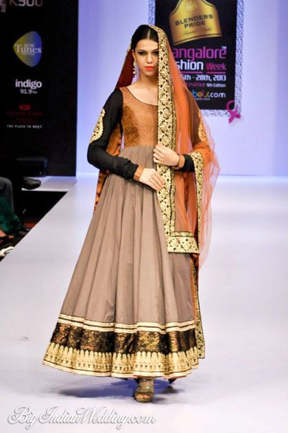 Maushmi Badra at BFW 2013 #salwaar kameez #chudidar #chudidar kameez #anarkali #anarkali suits #dress #indian #outfit  #shaadi #bridal #fashion #style #desi #designer #wedding #gorgeous #beautiful