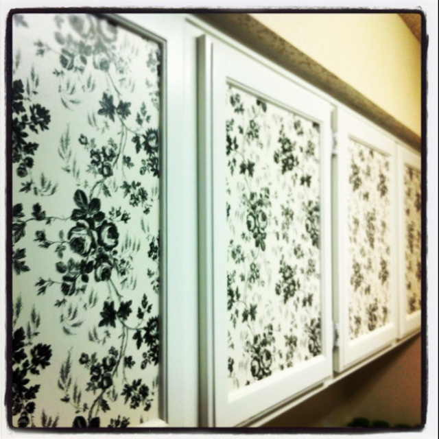 Contact Paper Cabinet Treatment Contact Paper Fabric Ideas