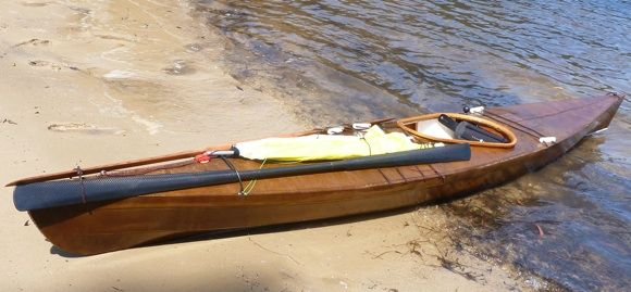 Traditional Paddles and Skin on Frame Kayaks