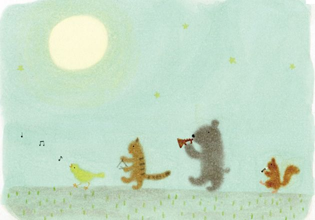 KAZUE TAKAHASHI: Art Illustrations, Artsy Lovin, Animal Illustrations, Artworks, Wild Parties, Art Design, Children Illustrations, Art Ish, Adorable Animal