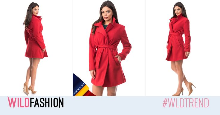 Paltonul este o piesa esentiala in garderoba oricarei femei, iar acest model MADE IN ROMANIA este si super trendy: