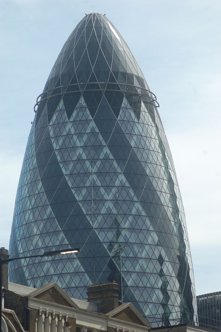 Gherkin, London,