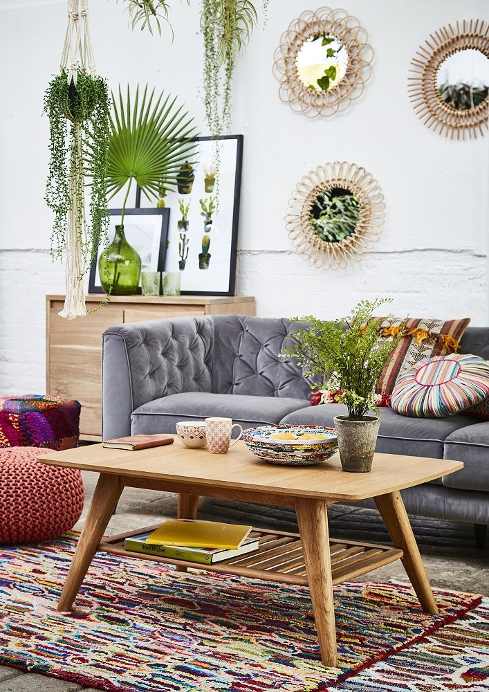 The Eclectibles trend blends Scandi and South American styles for a truely unique and eclectic look. Click to shop the trend.