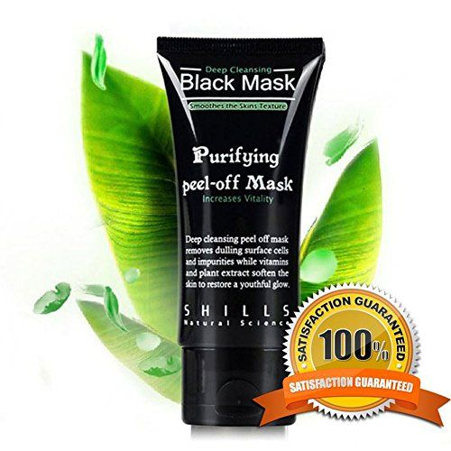 #Purifying #Black #Peel off #Mask #Facial #Cleansing #Blackhead #Remover  Shills #Purifying #Black #Mask Peel-off Deep #Facial #Cleansing #Blackhead #Remover Includes: 1x Shills Deep #Cleansing Peel-off #Black #Mask 50mL Features This jet-black, mineral-wealthy #mask creates a unique peel-off effect that delivers powerful detoxifying, #purifying, and brightening results. Made with a premier-quality clay, it is deep-cleansing properties draw out dirt and https://skincare.bouti