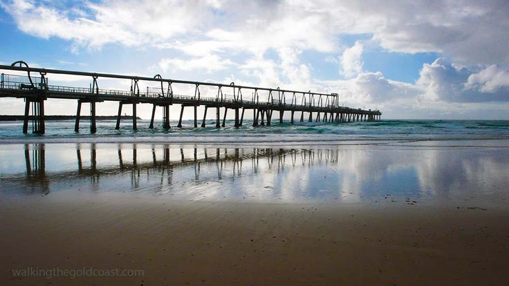 Sand pumping jetty #Gold Coast Spit, take a walk along the jetty...and see the Gold Coast