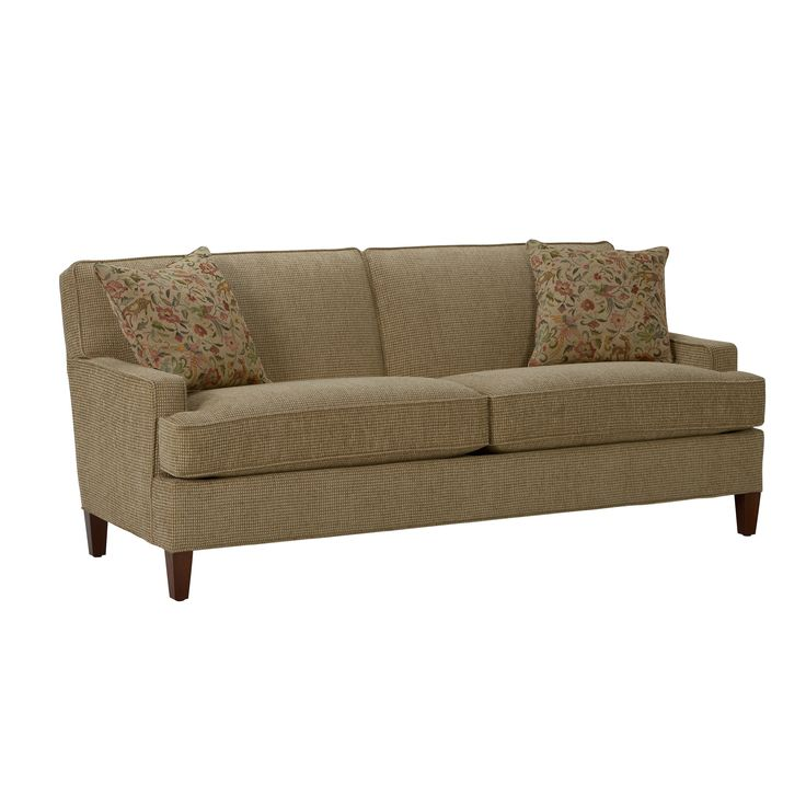 Tufted Sofa UPHOLSTERY FURNITURE TIP Do not remove cushion covers for separate dry cleaning or washing