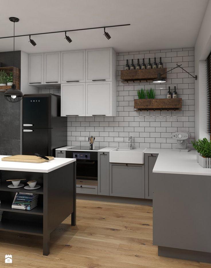 Kuchnia styl Vintage - zdjęcie od Dizajnia art - studio projektowe - Kuchnia - Styl Vintage - Dizajnia art - studio projektowe