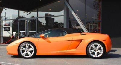 2007 Lamborghini Gallardo Spyder http://www.iseecars.com/used-cars/used-lamborghini-for-sale