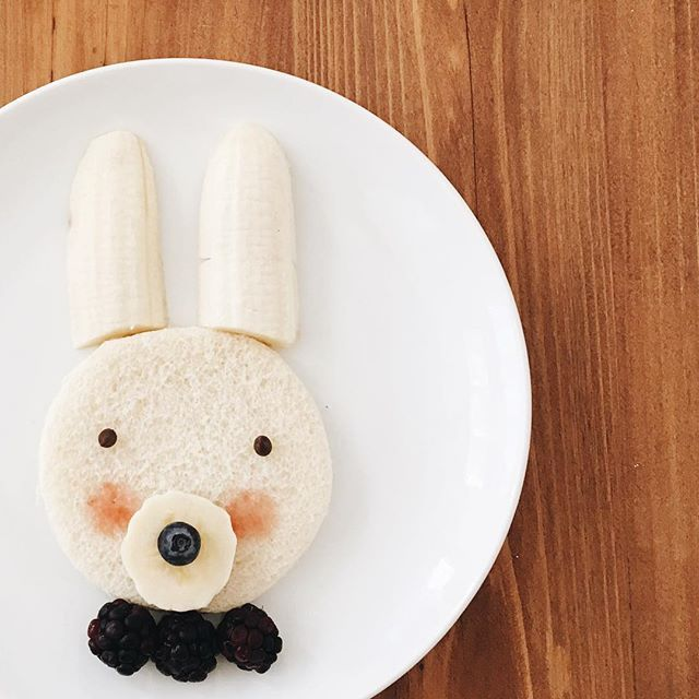 Breakfast // Bunny Toast Toddler Meal Ideas