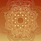 Gradient mandala 5 by creativelolo