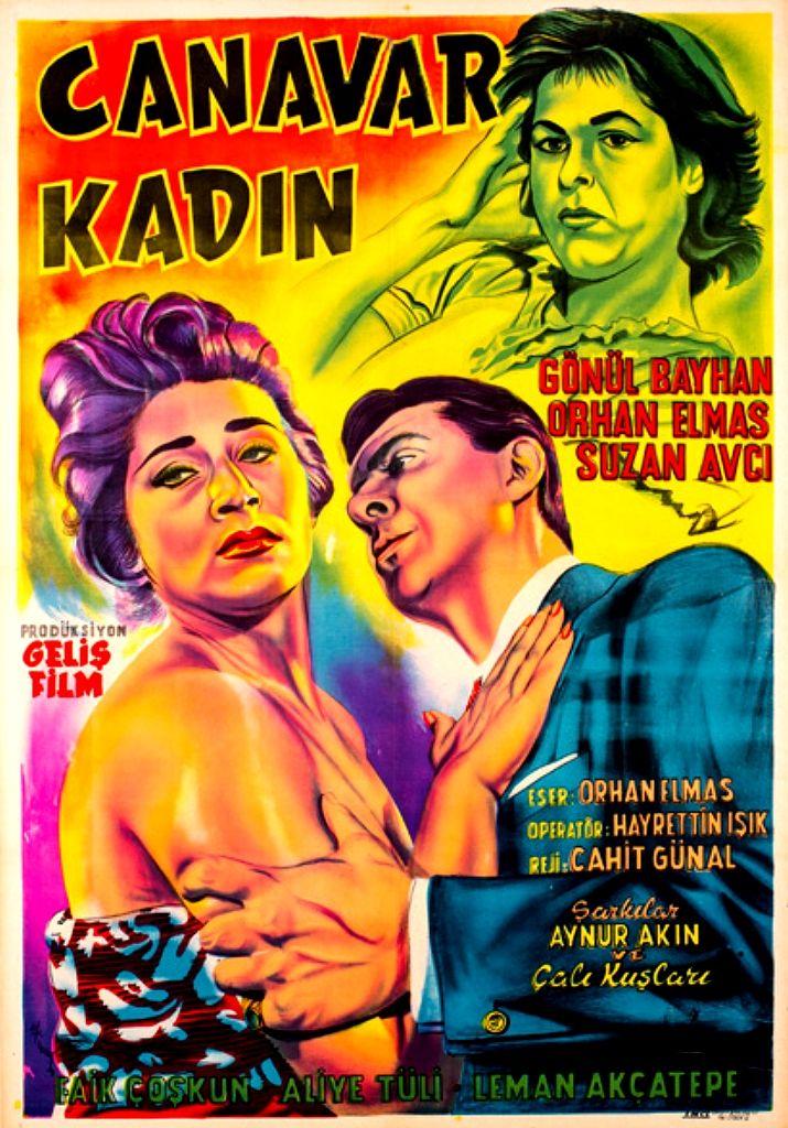1958 Canavar Kadın