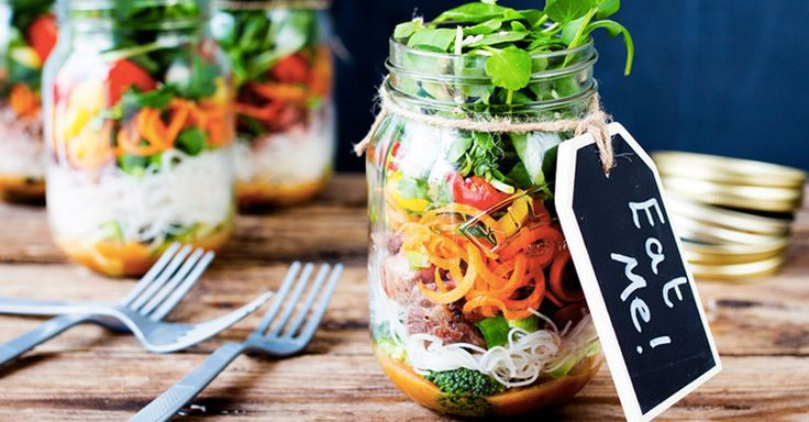 Looking for some lunch time inspiration for your work days? It's time to embrace the salad jar phenomenon! Here are 13+ amazing salad jar recipes to get you started.