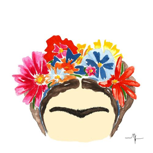 Frida Kahlo ilustração