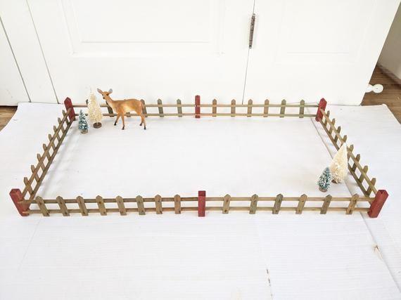 3//Pk #CLA70241 Dollhouse Miniatures 1:12 Scale Porch Fence