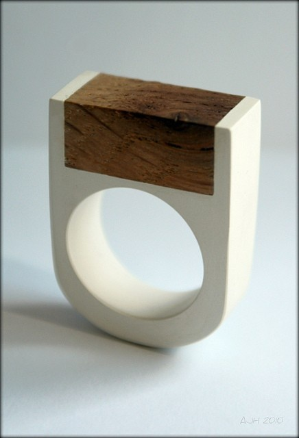 why diamond when you can have a wood block