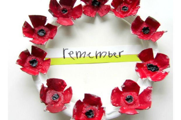 Poppy crafts: 9 lovely Remembrance Day crafts for kids