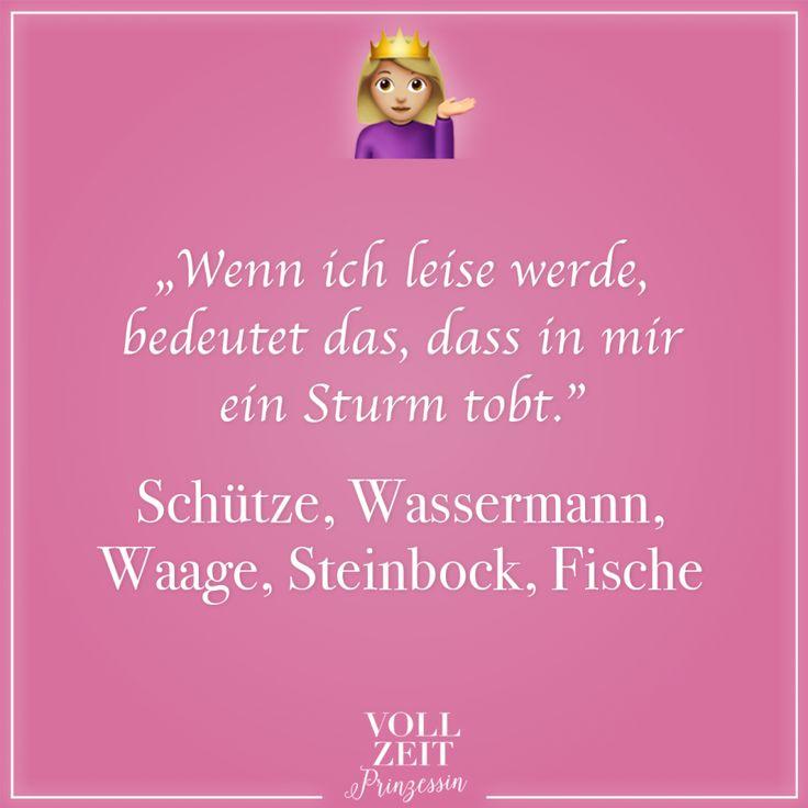 """""""Wenn ich leise werde, bedeutet das, dass in mir ein Sturm tobt."""" Schütze, Wassermann, Waage, Steinbock, Fische – VISUAL STATEMENTS"""