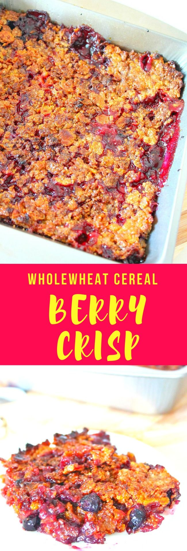 MIXED BERRY CRISP RECIPE - This berry crisp is a fun way to feature your favorite berries this season. Get your sweet tooth fixed with this mixed berry crisp that's not only delicious but easy and quick to make too.