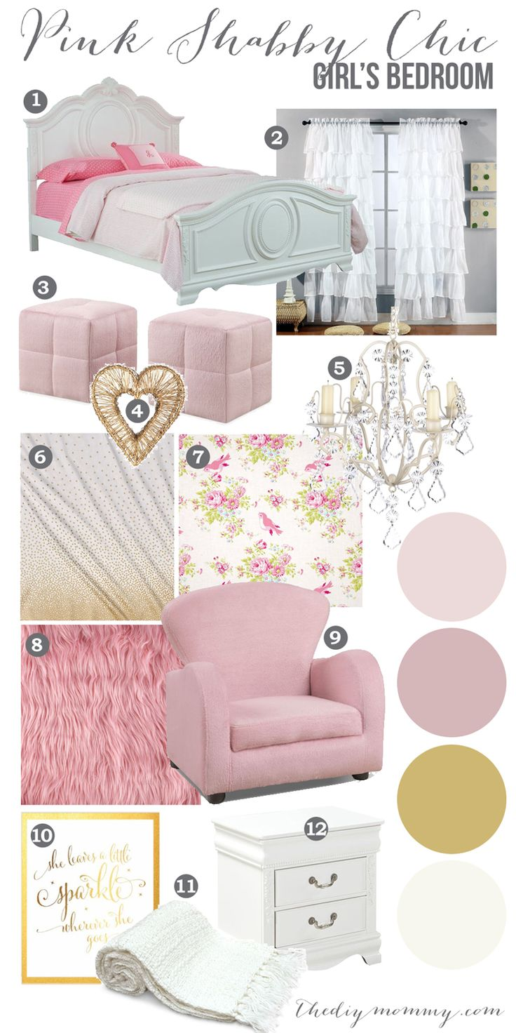 Shabby Chic Girls Bedrooms 17 Best Images About Home Kids Rooms On Pinterest Embroidery