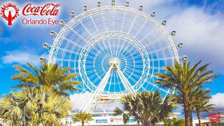 1 Adult Ticket (E-TICKET) to the Coca-Cola Orlando Eye