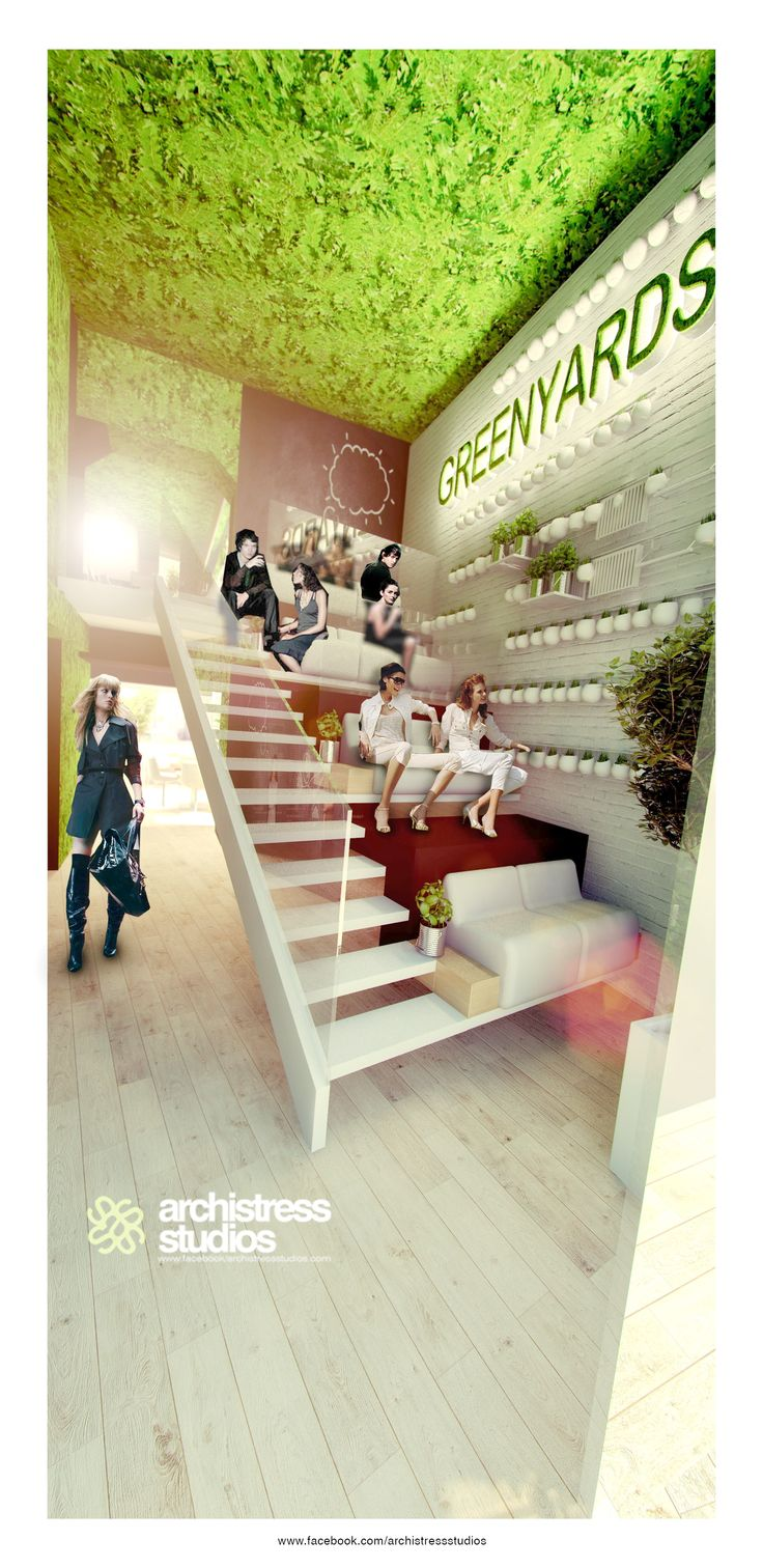 archistress studios design team - GREENYARDS COFFEE