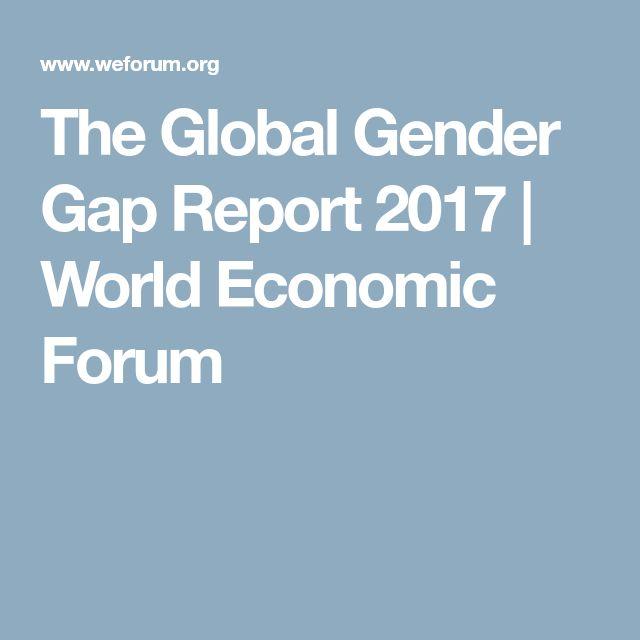 The Global Gender Gap Report 2017 | World Economic Forum