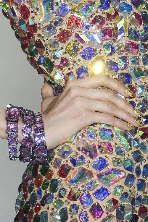 Jewels, Jewels, Jewels!: Fashion Details, Color, Crazy Dresses, Mosaics Dresses, Diamonds Dresses, High Fashion, Jewels Tones, Sparkle, Bling Bling