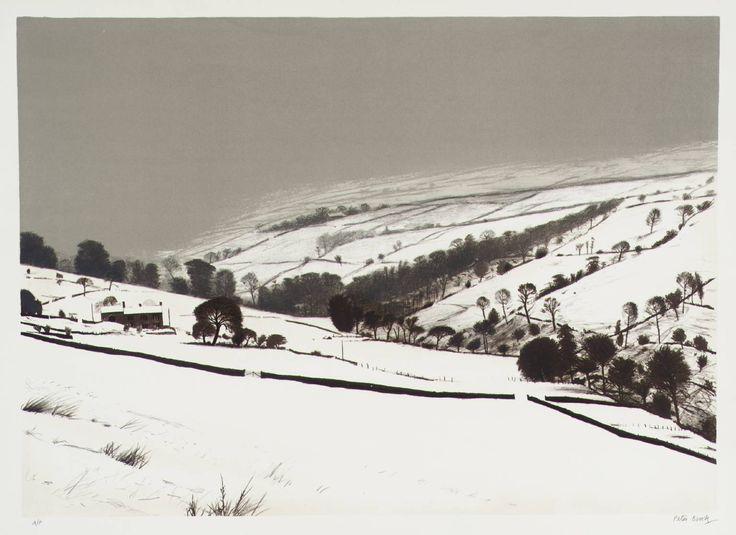 Peter Brook 'JANUARY Pennine Valley', 1976–7 © The estate of Peter Brook